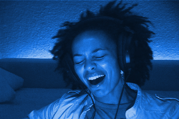 Eisa Davis in the Messiaen film Apparition of the Eternal Church, by Paul Festa